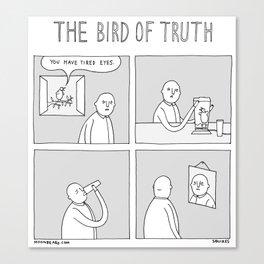 Moonbeard - The Bird of Truth Canvas Print