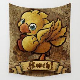 Chocobo Kwe ! Wall Tapestry