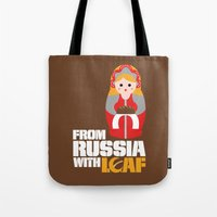 from Russia with loaf Tote Bag