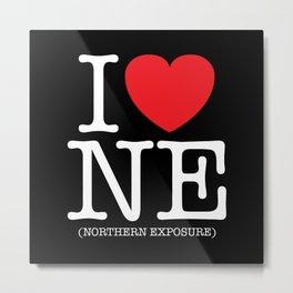 I Heart (Love) Northern Exposure Metal Print