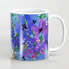 Cool Blue Summer Garden Coffee Mug