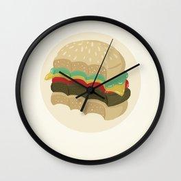 Totally a Burger Wall Clock