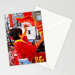 Chinese New Year in Paris Stationery Cards