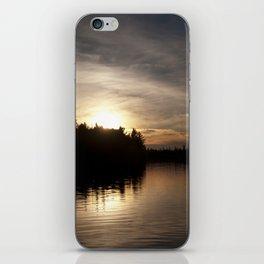 Northern Sunset 004 iPhone Skin