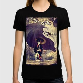 Out of the Cave, Into the Storm, the Hero Prepares for the Next Battle T-shirt