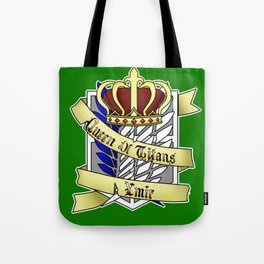Queen of Titans Ymir Tote Bag