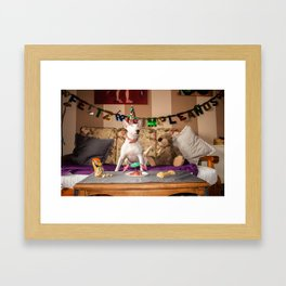 Kala's birthday Framed Art Print