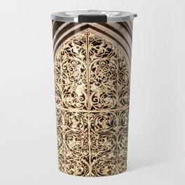 Golden Window Travel Mug