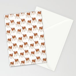 deer how dear Stationery Cards