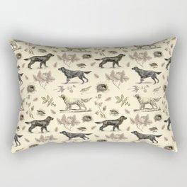 Setters Bird-dog pattern Rectangular Pillow