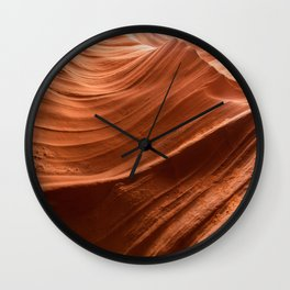antelope canyon | groovy Wall Clock