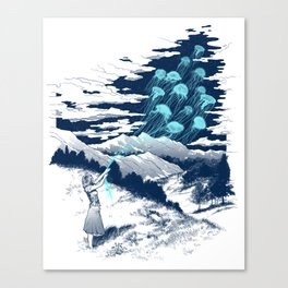 Release the Kindness Canvas Print