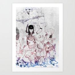 Lomb Art Print