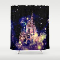 celestial Shower Curtains featuring Celestial Palace by WhimsyRomance&Fun