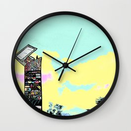 Coming Out Wall Clock