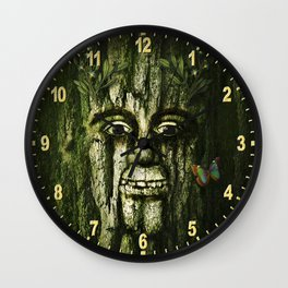 The Tremendous Mr. Treebley Wall Clock