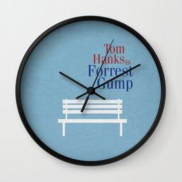 Forrest Gump 01 Wall Clock