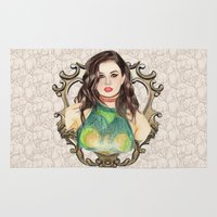 charli xcx Area & Throw Rugs featuring Charli XCX by Share_Shop