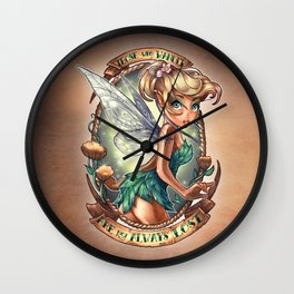 Those Who Wander Are Not Always Lost Wall Clock