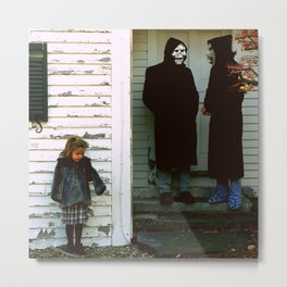 Brand New - The Devil and God Are Raging Against Me Metal Print