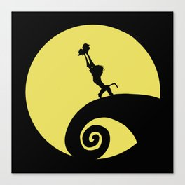 The Nightmare before the Lion King Canvas Print