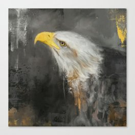 The Mighty Bald Eagle Canvas Print