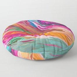 407 - Abstract Colour Design Floor Pillow