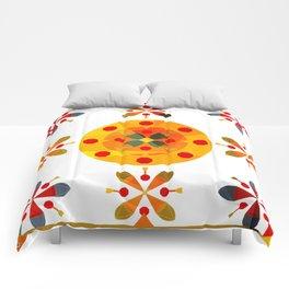Oskar V: Olive Comforters
