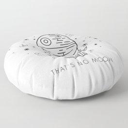 That's No Moon Death Star Hot Air Balloon Storm Tr Floor Pillow