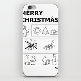 How To Have A Merry Christmas iPhone Skin
