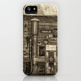 Antiqued Antiques iPhone Case