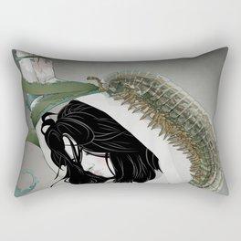 BUG GIRL Rectangular Pillow