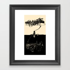 A Tale of ∞ Cities Framed Art Print