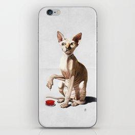 Cat-astrophe (Wordless) iPhone Skin