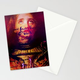 The divine revelation of Joan of Arc Stationery Cards