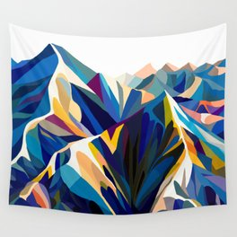 Mountains cold Wall Tapestry