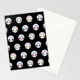 Cute sugar skulls B Stationery Cards