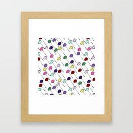 Lollies Framed Art Print