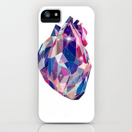 Stellar heart iPhone Case