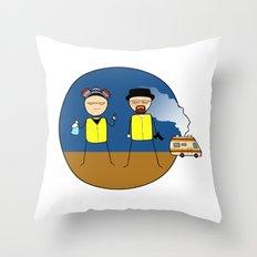 Breaking Bad Throw Pillow