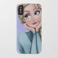 frozen elsa iPhone & iPod Cases featuring Elsa - Frozen by Roe Mesquita