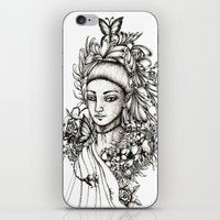 fairy iPhone & iPod Skins featuring Fairy by Anca Chelaru