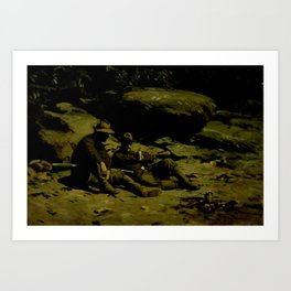 Gilbert Gaul - Two Soldiers Art Print