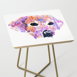 belle the lab Side Table