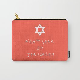Next year in Jerusalem 6 Carry-All Pouch