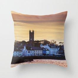 Donaghadee - Sunset Throw Pillow
