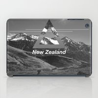 new zealand iPad Cases featuring New Zealand by ztwede