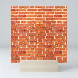 Brick wall patern Mini Art Print