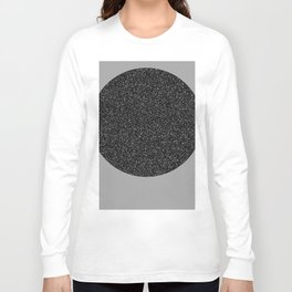 Big Ball in Black and White Long Sleeve T-shirt