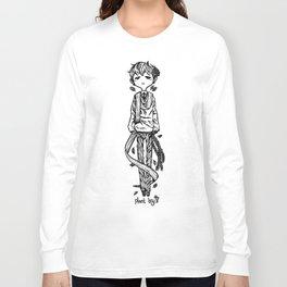 tall plant boy Long Sleeve T-shirt